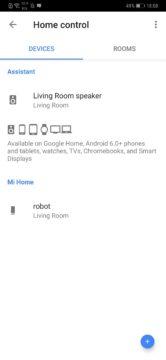 Google Home Assistant Google xiaomi roborock S50 S55 home control