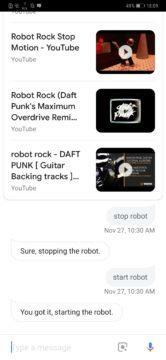 Google Home Assistant Google xiaomi roborock S50 S55 prikazy