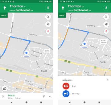 google mapy funkce waze