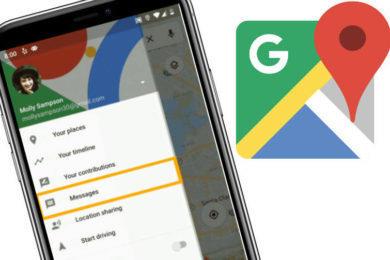 google mapy zpravy podniky