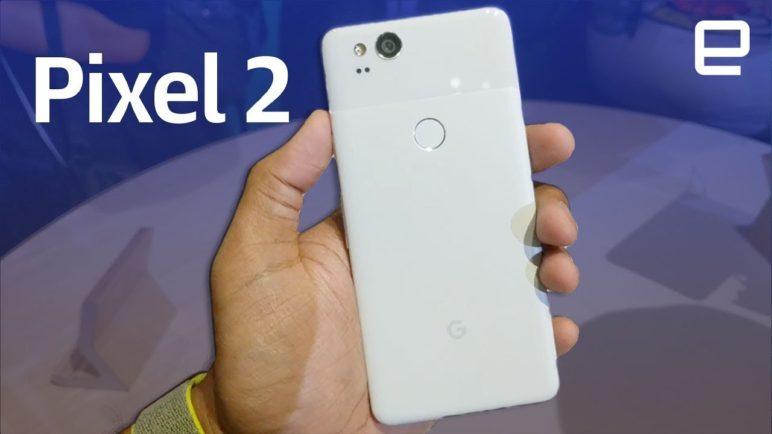 Google Pixel 2 hands-on LIVE