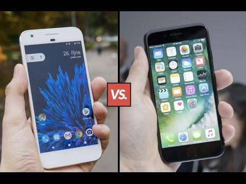 Google Pixel vs. iPhone 7 - který telefon spouští aplikace rychleji?