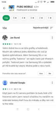 Google Play design hodnocení - nový design 02