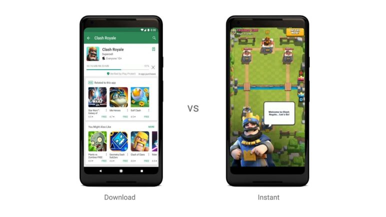 Google Play Instant: play games without the wait