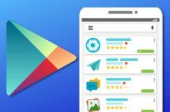 Google Play nový design hodnocení