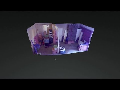 Google Project Tango: 3D Indoor Map by Matterport (No Sound)