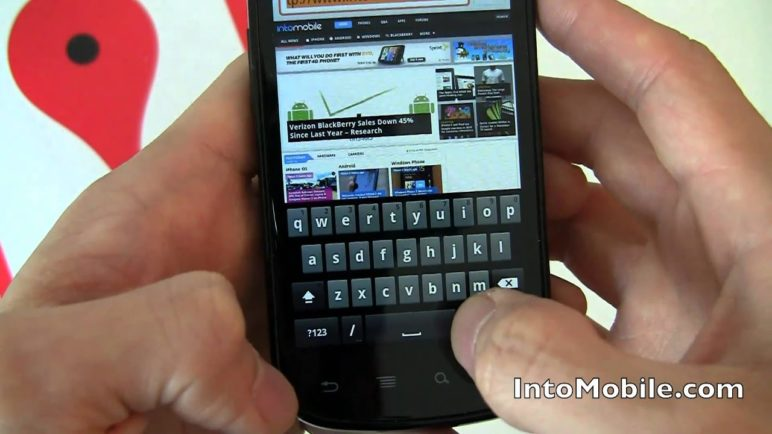Google (Samsung) Nexus S software tour (Android 2.3 Gingerbread and NFC)