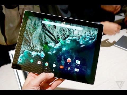 Hands-on with Google's Android-based Pixel C tablet