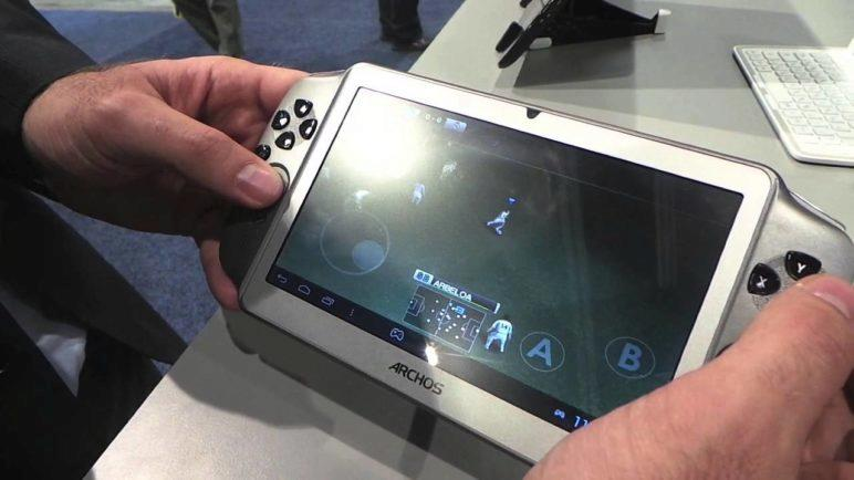 Hands-on with the Archos Gamepad at CES 2013