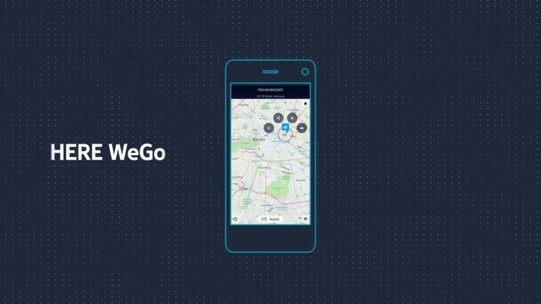 HERE WeGo: Effortless city navigation