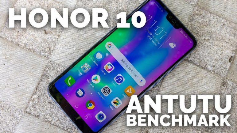 Honor 10 - Antutu benchmark