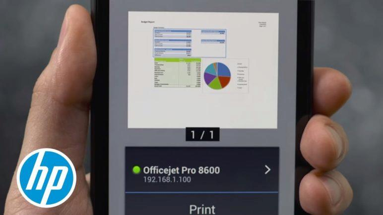 How to print from your Android device to your HP Printer