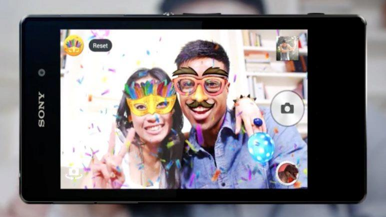 How to use AR effect with Xperia™ Z1 from Sony