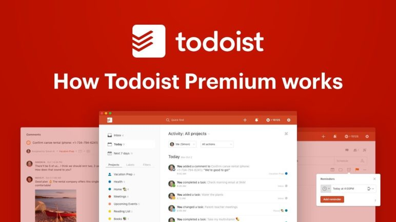How Todoist Premium works