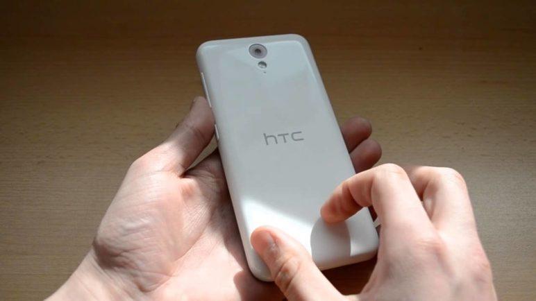 HTC Desire 620 - konstrukce