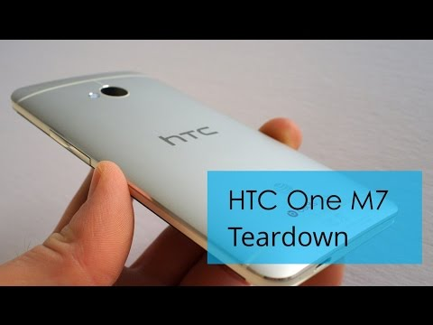 HTC One Disassembly Tear Down Repair