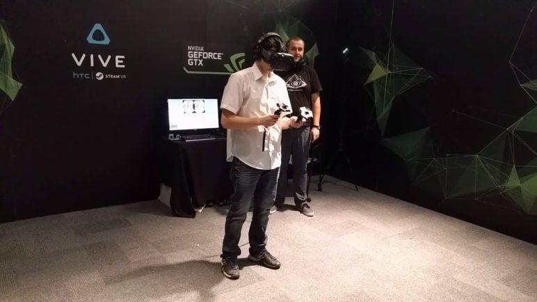 HTC Vive - virtuální realita