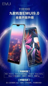 huawei honor aktualizace android 9 pie