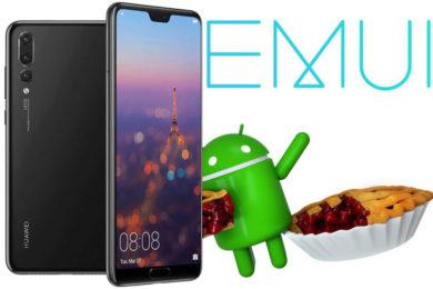 huawei honor aktualizace emui 9 android 9 pie