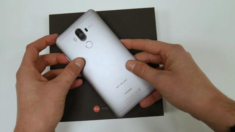 Huawei Mate 9 - kovový obr se skvělou výbavou