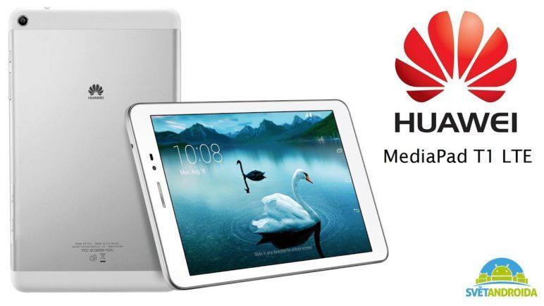 Huawei MediaPad T1 - První pohled