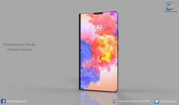 Huawei ohebný 5G telefon 01