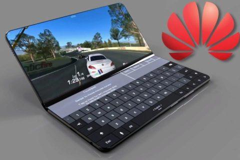Huawei ohebný 5G telefon koncept