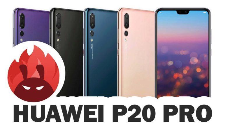 Huawei P20 Pro benchmark test - SvetAndroida.cz