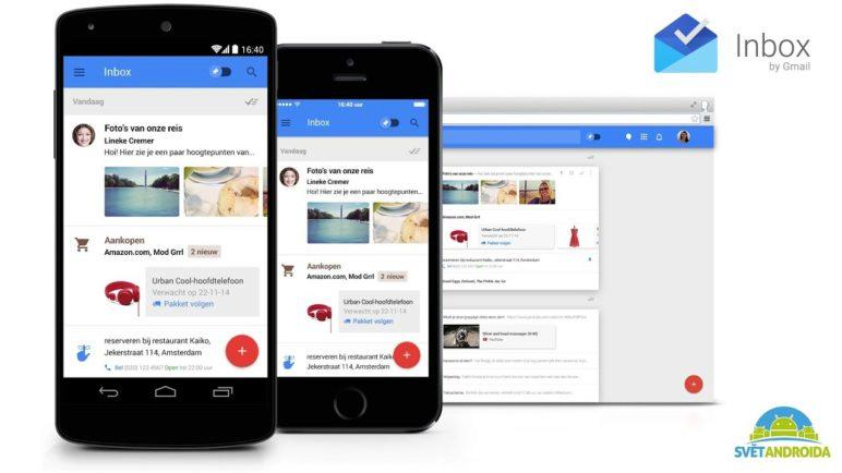 Inbox by Gmail - videopohled