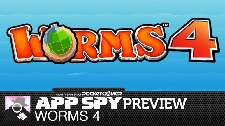 INCOMING! | Worms 4 gameplay preview