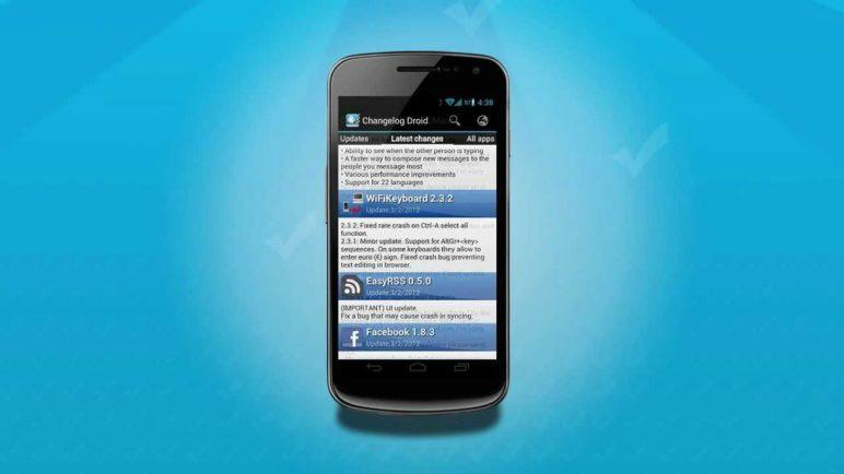 Introducing: Changelog Droid 3.1