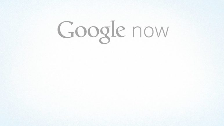 Introducing Google Now