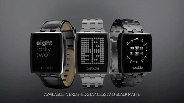 Introducing Pebble Steel - iOS and Android Smartwatch