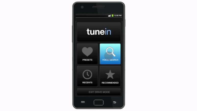 Introducing TuneIn Car Mode for Android