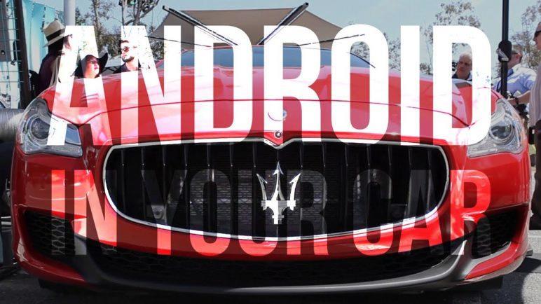 I/O 2016: Google's Prototype Android Car OS