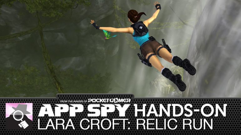Lara Croft: Relic Run | iOS iPhone / iPad Hands-On - AppSpy.com