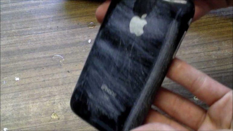 iPhone 3GS Destruction! - Crash Test