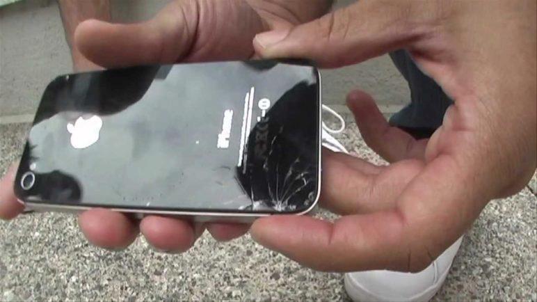 iPhone 4S vs. Samsung Galaxy S II Drop Test