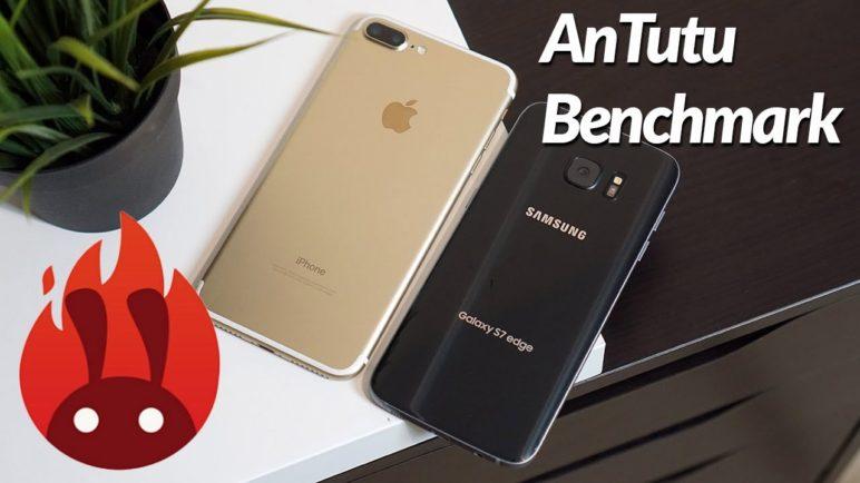 iPhone 7 Plus vs. Samsung Galaxy S7 - AnTuTu benchmark