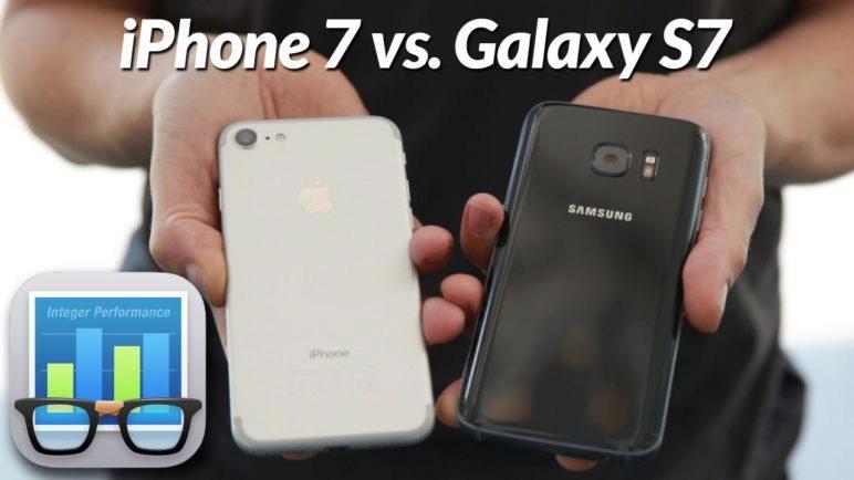 iPhone 7 Plus vs. Samsung Galaxy S7 - Geekbench 4