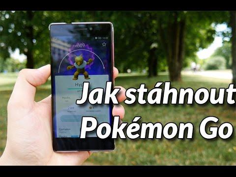 Jak stáhnout Pokémon Go a nainstalovat do telefonu?