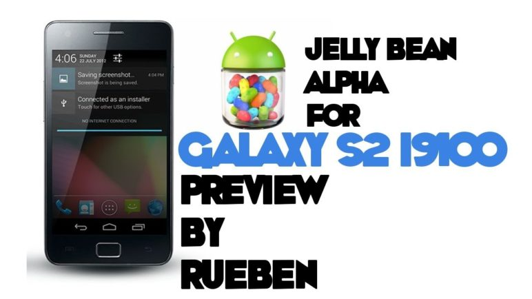 Jelly Bean Android 4.1 Alpha for Samsung Galaxy s2 i9100