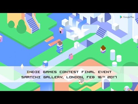 Join the final event of the Google Play Indie Games Contest in London