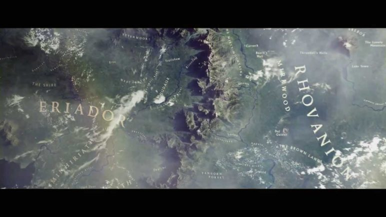 Journey through Middle-earth, a Chrome Experiment