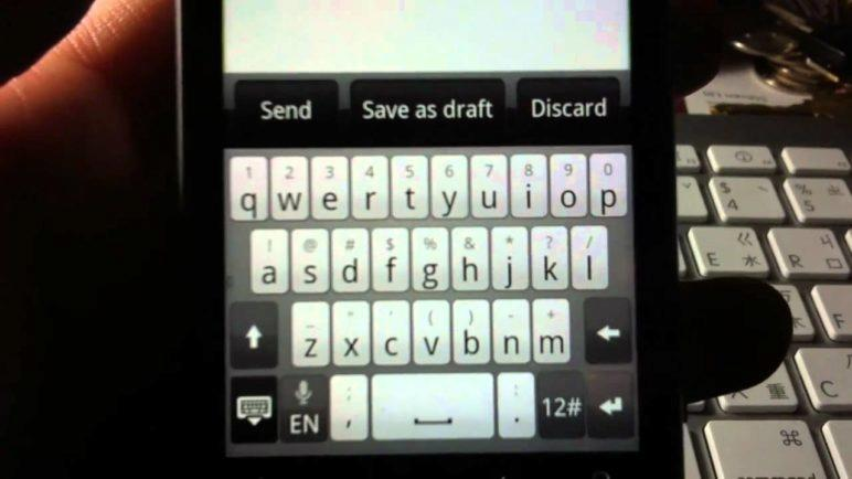 Keyboard from Android 2.3