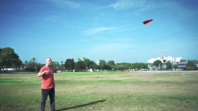 KICKSTARTER Proejct -  PowerUp 3.0 - 1st ever smartphone / bluetooth controlled paper airplane