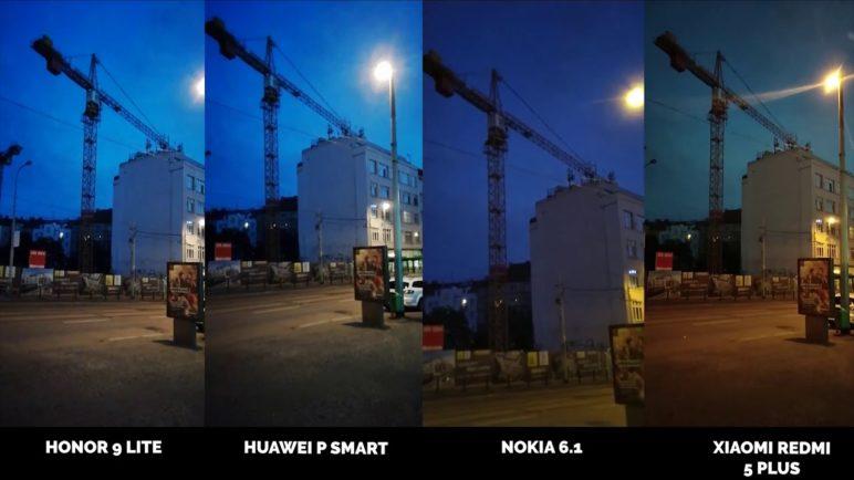 Který mobil točí nejlepší videa?Honor 9 Lite vs Huawei P Smart vs Nokia 6.1 vs Xiaomi Redmi 5 Plus