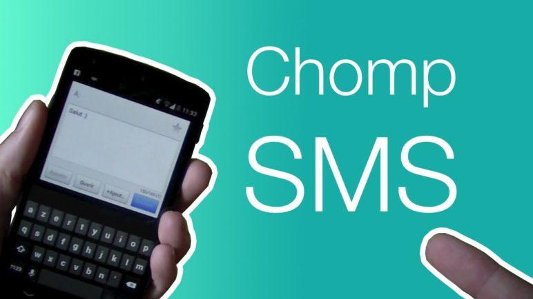 La meilleure application de messagerie sur Android | ChompSMS