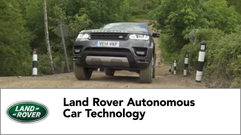 Land Rover Autonomous Car Technology
