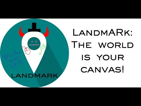 LandmARk Alpha demo - Version Alpha_0.07